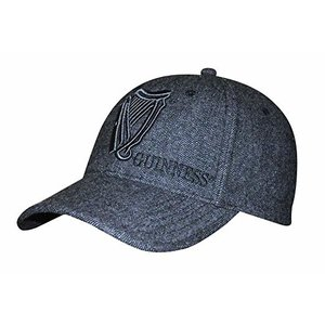 Guinness Baseball Hat Tweed Vintage Harp
