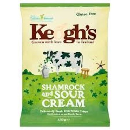 Keogh's Keoghs Shamrock & Sour Cream 125g