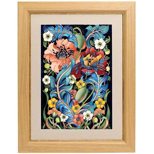 Moorcroft Pottery Moorcroft Arts & Crafts Plaque PLQ813 (NB)