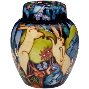 Moorcroft Pottery Moorcroft The Forest Ginger Jar 769/8 (LE20)