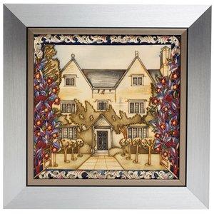 Moorcroft Pottery Kelmscott Manor Plaque