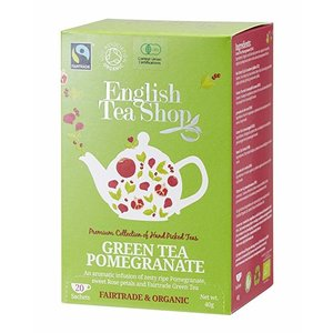 English Tea Shop English Tea Shop Green Tea and Pomegranate