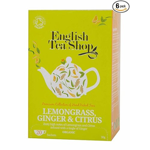 English Tea Shop English Tea Shop Lemongrass, Ginger, and Citrus