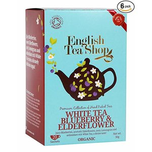 English Tea Shop English Tea Shop White Blueberry and Elderflower 30g
