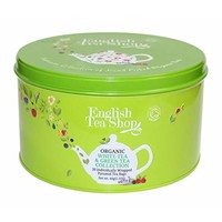 English Tea Shop Organic Green & White Tea Tin