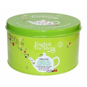 English Tea Shop English Tea Shop Organic Green & White Tea Tin