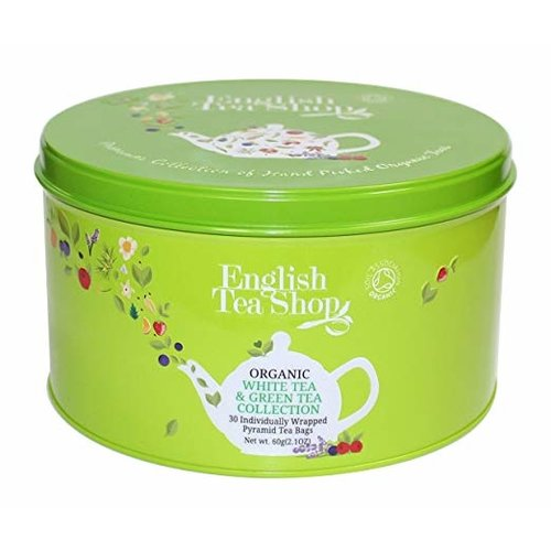 English Tea Shop English Tea Shop Organic Green Tin 60g