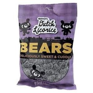 Gustaf's Gustaf  Sugared Licorice  Bears