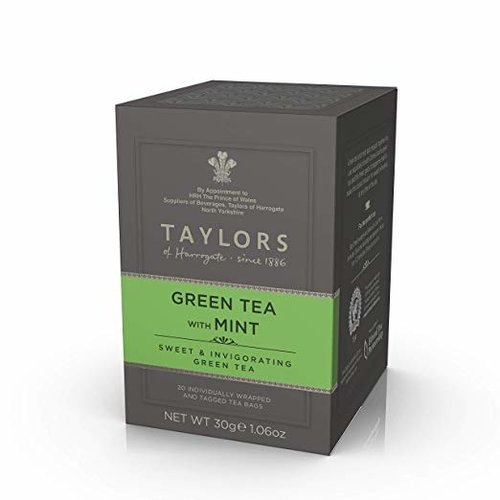 Taylors of Harrogate Taylors of Harrogate Green Tea with Mint 20s