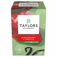 Taylors of Harrogate Strawberry  Vanilla Green Tea