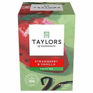 Taylors of Harrogate Taylors of Harrogate Strawberry  Vanilla Green Tea