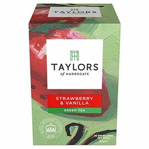 Taylor's of Harrogate Taylors Strawberry & Vanilla Green Tea