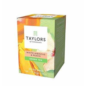Taylors of Harrogate Taylors of Harrogate White Hibiscus and Peach Green Tea