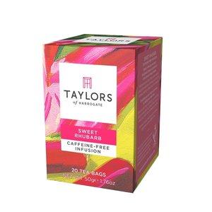 Taylor's of Harrogate Taylors Sweet Rhubarb Herbal Infusion
