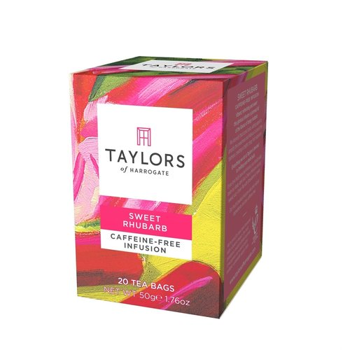 Taylor's of Harrogate Taylors Sweet Rhubarb Herbal Infusion