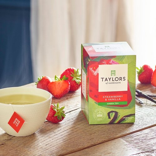 Taylors of Harrogate Taylors of Harrogate Strawberry  Vanilla Green Tea
