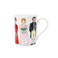 Alison Gardiner Jane Austen Characters Mug