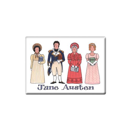 Alison Gardiner Jane Austen Fridge Magnet (Jumbo 90 x 65mm)