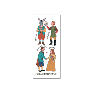 Alison Gardiner Shakespeare Characters Bookmark
