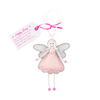 Happy Fairy Ornament