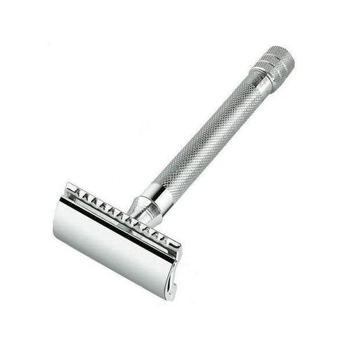 Merkur Merkur Double Edge Safety Razor - Chrome/Long Handle (90-23-001)