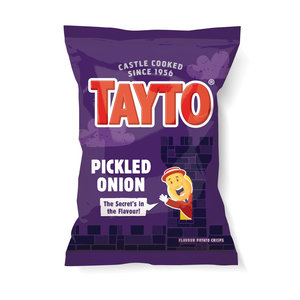 Tayto N.I. Tayto Pickled Onion Flavoured Potato Crisps