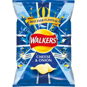 Walker's Walkers Cheese and Onion Crisps