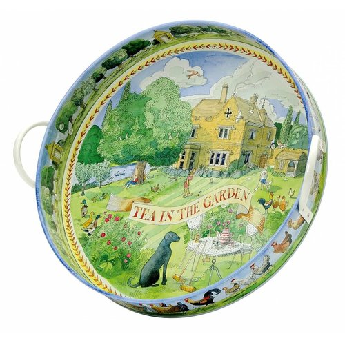 Emma Bridgewater Bridgewater Year in the Country Large Tray - Tea in the Garden