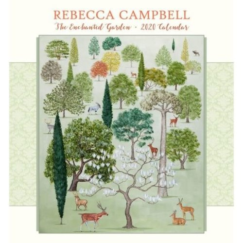 Pomegranate Rebecca Campbell The Enchanted Garden 2020 Wall calendar