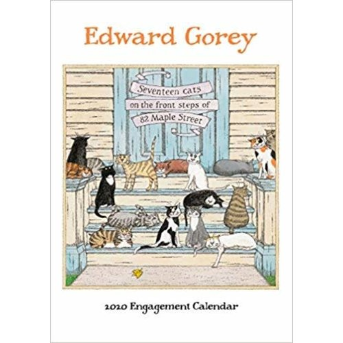Pomegranate Edward Gorey 2020 Engagement Calendar