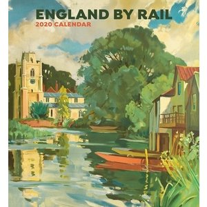 Pomegranate Pomegranate England by Rail 2020 Calendar