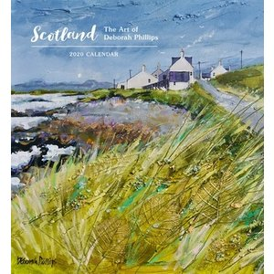 Pomegranate Scotland The Art of Deborah Phillips 2020 Calendar