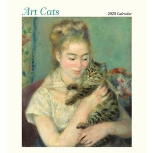 Pomegranate Pomegranate Arts Cats 2020 Calendar