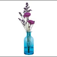 Flower Bottle Large Daisy Turquoise