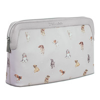 Large Cosmetic Bag - 'Woof'