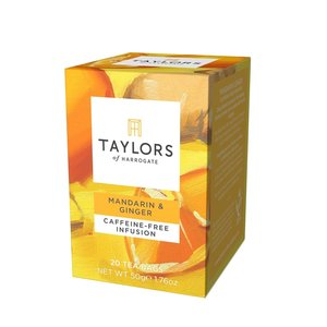 Taylor's of Harrogate Taylors of Harrogate Mandarin & Ginger Infusion