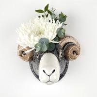 Quail Swaledale Sheep Wall Vase
