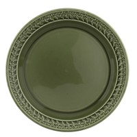 "Botanic Garden Harmony 8.5"" Plate Forest Green"