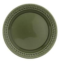 """Botanic Garden Harmony 10.5"""" Dinner Plate Forest Green"""