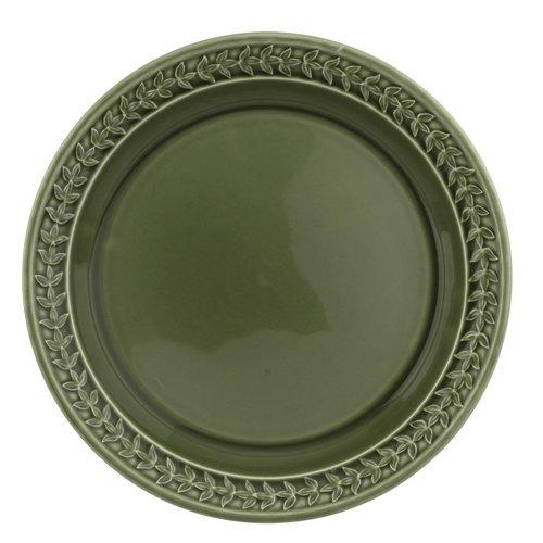 """Portmeirion Botanic Garden Harmony 10.5"""" Dinner Plate Forest Green"""