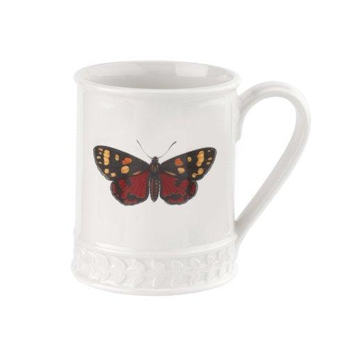 Portmeirion Botanic Garden Harmony Scarlet Butterfly Mug