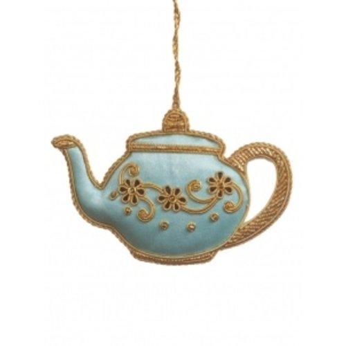 St. Nicolas St. Nicolas Tea Party Ornament Baby Blue