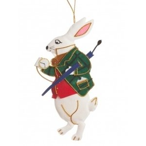 St. Nicolas St. Nicolas Alice Rabbit Ornament