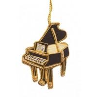 St. Nicolas Black Piano Ornament