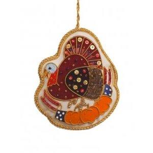 St. Nicolas St. Nicolas Thanksgiving Turkey Ornament