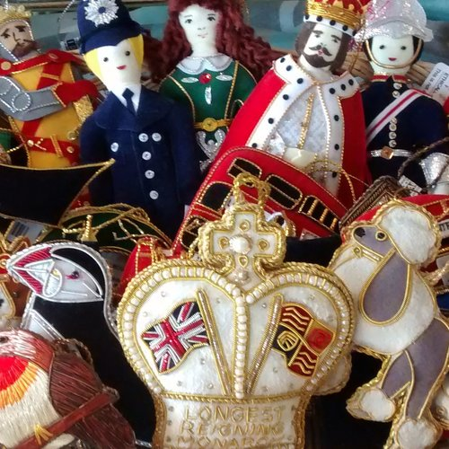 St. Nicolas Embroidered Ornaments