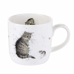 Wrendale Wrendale Cat and Mouse Large Mug