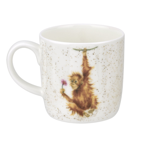 Wrendale Wrendale Orangutangle 14oz Mug