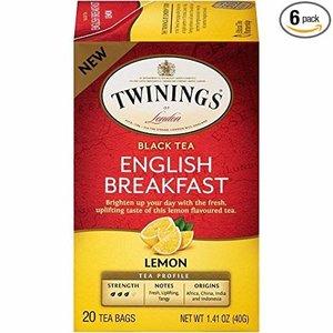 Twinings Twinings 20 CT English Breakfast Lemon