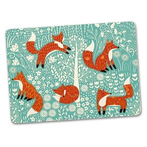 Ulster Weavers Foraging Fox Cork Placemats